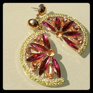 Dangling Watermelon earrings 🍉
